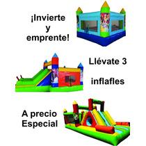 Inflafle Brincolin Paquete Eventos Inica Negocio Propio