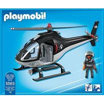 Helicoptero Policia Unidad Especial Playmobil Intek Juguete
