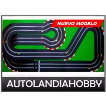 Pista Autos Scalextric 2 Vias 10mt Recorrido Nuevo Modelo