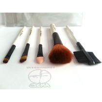 Set Kit Estuche De Brochas Mac Maquillaje