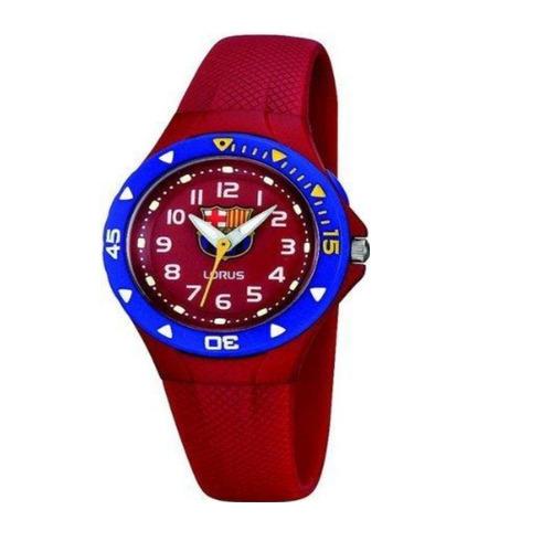 c0eca3345b5a4 Reloj Lorus By Seiko R2367gx9 Niño Barca Messi Bordo Caucho -   3.170