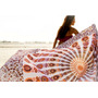 Pack X 6 Cover/manta De La India 2 Plazas #unicos #mandalas