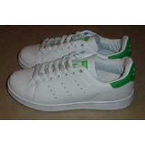 Kp3 Zapatos Adidas Stan Smith Damas Y Caballeros 36 Al 45
