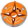 Tapa De Tanque Para Moto Bws Sep Modelo 2-naranja