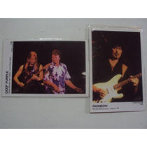 Set De Fotos De Deep Purple Y Rainbow (2 Ejs)