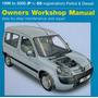 Manual De Taller Peugeot Partner Y Berlingo
