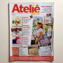 Revista Ateliê Patch Apliquê Chinelos Decorados Bolsa Nº53