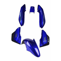 Kit Carenagem Suzuki Yes125 - Azul 2009 C/adesivada