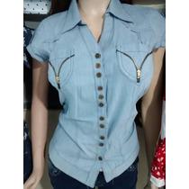 Camisa Dama Tipo Jean