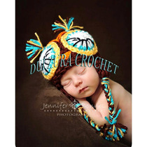 Gorros Tejidos Crochet Bebés Niña Niño Regalo Babyshower Maa