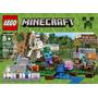 Lego Minecraft El Golem De Hierro 21123 Piezas Juguetes Niño