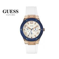 Reloj Guess W0564l1 Blanco Y Doradoen Stock En Caja Original