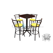 Mesa Periquera Para Bar Restaurante Cafeteria Lounge Ch60c