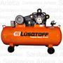 Compresor De Aire Lc75300 Tricilindrico 300lt 7.5hp Lusqtoff
