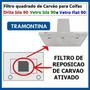 Filtro Carvao Ativado P Coifa Tramontina Vetro Isla Flat 90