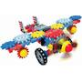 Avion Aerotrax Plane Armar Didactico Motorizado / No Meccano