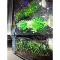 Plantas Artificiais Para Aquários, Pacote Com 08 G - 29 Cm