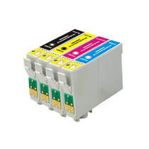 Kit Cartucho Compativel Epson 90n To901 /732 /733 /734 C/04
