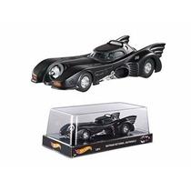 Miniatura Batmóvel Batman Returns 1989 1:24 Hot Wheels