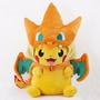 Peluche Pokemon Pikachu Gorro De Charizard 25 Cm
