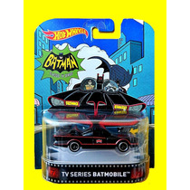 Batman Tv Series Batmobile Hot Wheels Retro Lacrado Borracha