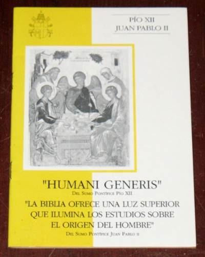 Resultado de imagen de Encíclica Humani Generis