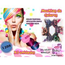 Mechitas De Colores, Tintura Temporal Para Pelo, Spa Nenas