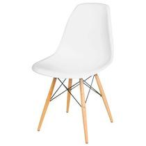 Cadeiras Decorativa Charles Eames Plástico Branca Ou Preta