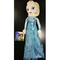Elsa Disney Frozen Peluche 52 Cm Olaf Con Envío ! Original