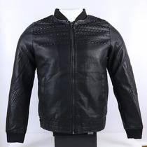 Casaca Importada Tipo Cuero Con Diseño Negro Adidas Ndph
