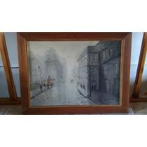 Pintura Al Oleo De M.bonnet Con Marco 84cm×64cm