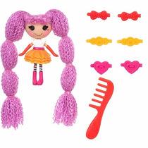 Boneca Lalaloopsy Mini Loopy Hair Pink - Buba