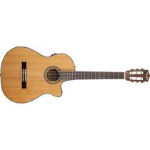 Violão Fender Cn-240 Sce Thinline Nylon Classical