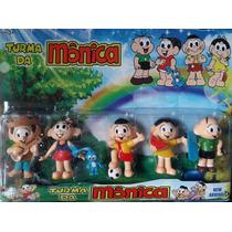 Bonecos Miniatura Turma Da Mônica - Kit C/ 5 Pronta Entrega