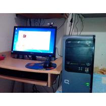 Vendo Oferta Computadora Compaq Con Windows 7 En 65