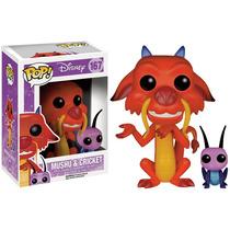 Mushu & Cricket Película Disney Mulan Funko Pop