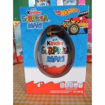 Huevo Kinder Sorpresa Maxi Gigante Hot Wheel 100g