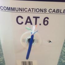 Utp Cat6 100% Cobre Certificado 305mts