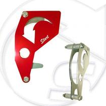 Proteção Pinhão Crf230 Todas Anodizado Vermelho