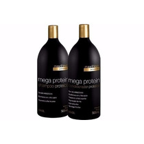 Mega Protein Shampoo E Condicionador Maxiline 2x500ml