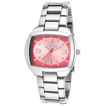 Reloj Oxbow 4551101 Es Stainless Steel Pink Dial - Mujer