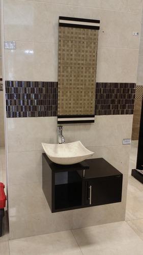 Mueble para ba o economico lavabo de marmol minimalista for Ovalines para lavabo