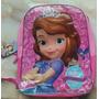 Morral Escolar Bolso Princesa Sofia Original Disney Junior