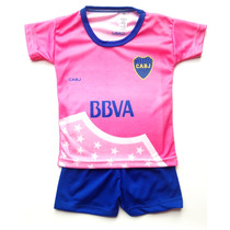 Camiseta Boca Rosa Bebe Beba Nena Body Enterito Remera River