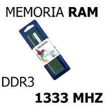 Memoria Ram Para Pc Computadora 8gb1333 Mhz Ddr3 (adata)
