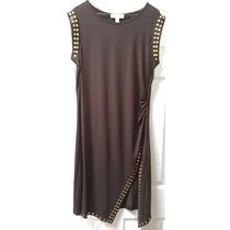 Vestido Michael Kors Talla Xl Color Chocolate. 100% Original