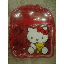 Bolso Escolar De Hello Kitty Al Mayor