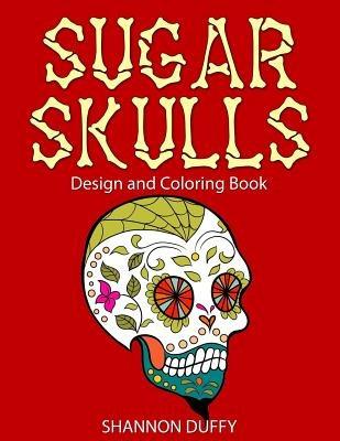 Libro De Colorear Adultos De Calaveras De Azúcar: Diseño - $ 64.111 ...