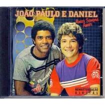 João Paulo E Daniel - Amor Sempre Amor,cd Raro!