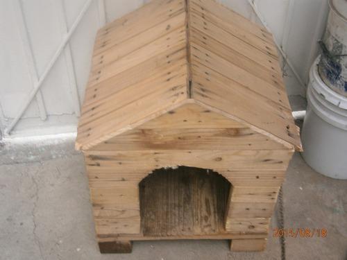 Casita para perro de madera en mercado libre - Como hacer una casita para perros ...